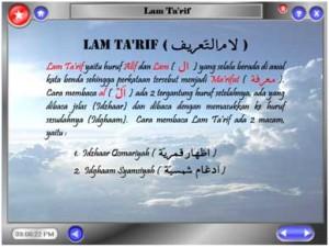 Bab 6 (Lam Ta'arif)