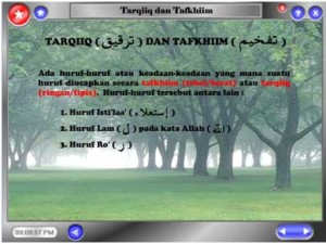 Bab 7 (Tarqiiq dan Tafkhiim)